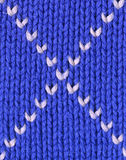 Background - closeup of knitted textile Royalty Free Stock Photo