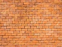 Background of closeup vintage brick wall texture, Thailand Stock Photo