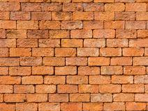 Background of closeup vintage brick wall texture, Thailand Stock Image