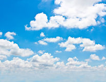 Background of cloud. Stock Photography