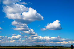 Background clouds Stock Image