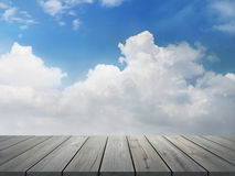 Background with clouds Stock Photos