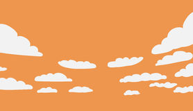 Background with clouds Stock Image