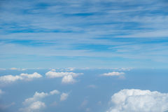 Background of clouds and sky Stock Photo