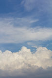 Background of cloudy sky. Royalty Free Stock Photography