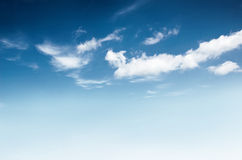 Background of cloudy sky Stock Photos