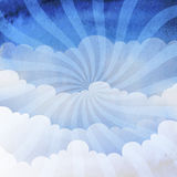 Background cloudy sky Royalty Free Stock Photography
