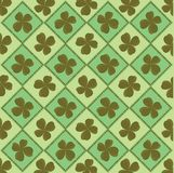 Background with clover royalty free stock image