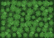 Background with clover Royalty Free Stock Photography