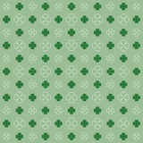 Background with clover pattern Stock Photo