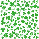 Background with clovers, St. Patrick's Day background,  Stock Photo