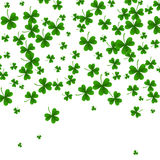 Background with clovers, St. Patrick s Day background .Vector illustration. St Patrick s Day background. Vector illustration for lucky spring design with royalty free illustration