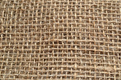 Background of coarse linen cloth. Coarse texture sackcloth background texture Royalty Free Stock Images