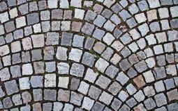 Background of cobblestone Royalty Free Stock Image