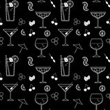 Background cocktails Royalty Free Stock Image
