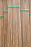 Background coconut leaf broom. Stock Photos
