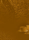 Background of coffee. The brown Background, cup of coffee stock illustration