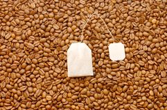 Background from coffee beans Royalty Free Stock Images