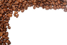 Background with coffee beans Royalty Free Stock Photo