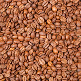 Background of coffee beans Royalty Free Stock Photos