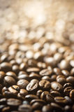 Background of coffee beans Stock Photos