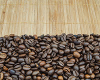 Background of coffee beans Stock Photography