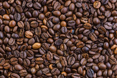 Background from coffee beans. Royalty Free Stock Photography