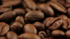 Background with Coffee Beans Royalty Free Stock Photography