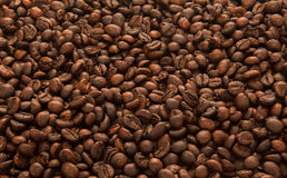 Background of coffee. Background of black roasted coffee stock images