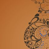Background_in_coffee_colors Lizenzfreies Stockbild