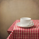 Background with coffee cup Stock Images