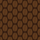 Background with coffee grains Royalty Free Stock Image