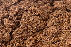 Background coffee - the ground Stock Photo
