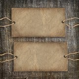 Background coffee texture vintage burlap royalty free stock images