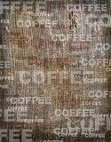 Background coffee texture vintage burlap Stock Photos