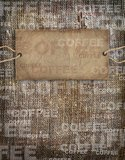Background coffee texture vintage burlap Royalty Free Stock Photos