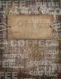 Background coffee texture vintage burlap royalty free stock photos