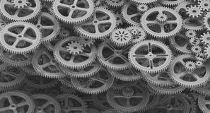 Background from cogwheels Stock Images
