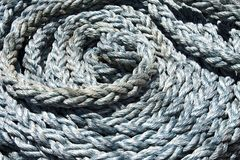 Background coiled rope Stock Photo