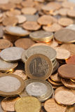 Background from coins Royalty Free Stock Photo