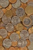 Background from coins Stock Photography