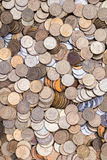 Background with coins Stock Image