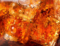 Background of cola Stock Photography
