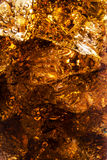 Background of cola with ice and bubbles Royalty Free Stock Photo