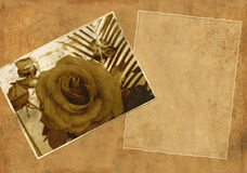 Background - collage in retro style Royalty Free Stock Photo