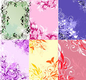 Background collection Royalty Free Stock Photos