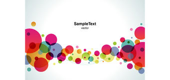 Background Color Bubble Wide. Background any Color Bubble Wide Royalty Free Stock Image