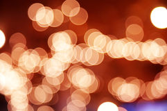 Background from color circle bokeh Stock Photo
