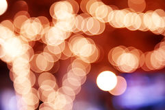 Background from color circle bokeh Stock Photos