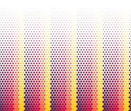 Background of color circles of different sizes on a white field stock illustration